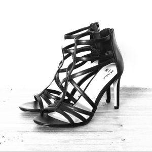 NEW Mix No. 6 Milanna Black Strappy Heels 👠